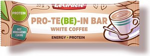 Tyčinka PRO-TE(BE)-IN white coffee 35g
